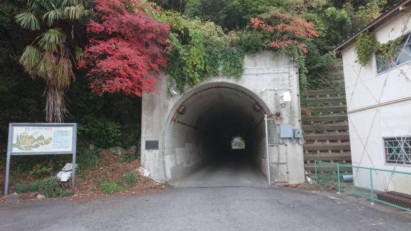 写真:秋葉山隧道