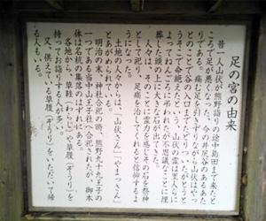 写真:中山王子「足の宮さん」 (3枚目)