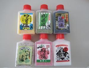 写真:熊野のお塩(6種類セット)(2枚目)