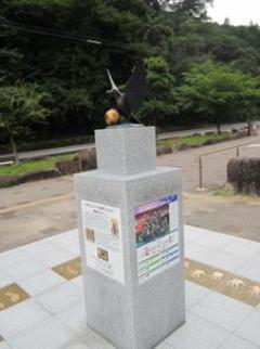 写真:なでしこジャパン記念モニュメント(3枚目)
