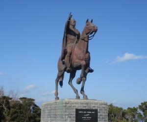 写真:アタテュルク騎馬像