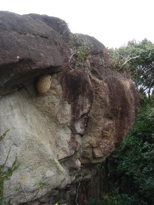 写真:天狗岩