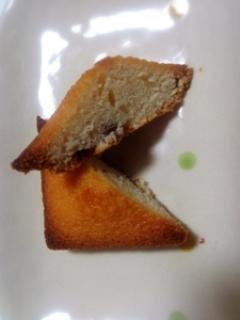 写真:柿のフィナンシェ(2枚目)