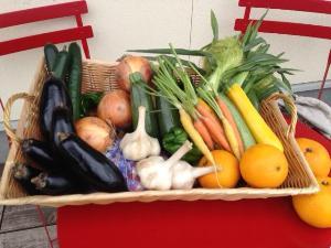 写真:野菜を使ったジェラート(3枚目)