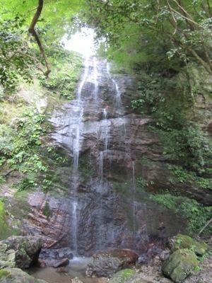 写真:不動の滝