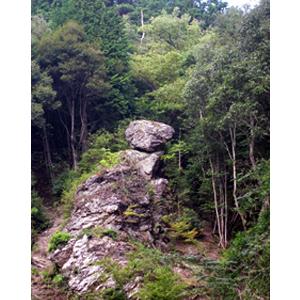 写真:奇岩「天狗岩」