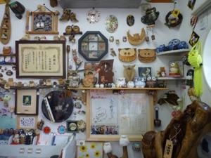 写真:打田下井阪簡易郵便局のフクロウコレクション (3枚目)