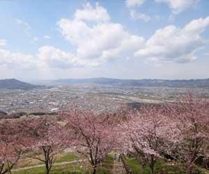 写真:最初ヵ峰展望所からの眺め