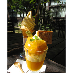 写真:感激!超~濃厚スイーツ 「オレンジパフェ」