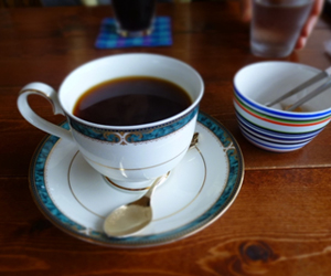 写真:世界のストレートコーヒー(モカ)