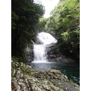 写真:マイナスイオンいっぱいの雫の滝 (3枚目)