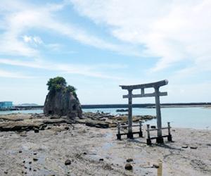 写真:海の中に建つ大鳥居! (2枚目)