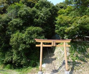 写真:押分岩(秋葉神社) (3枚目)