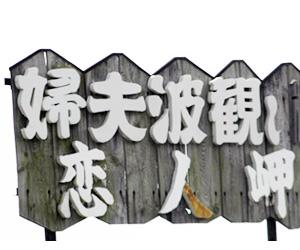 写真:運が良ければみられます!恋人岬・夫婦波 (2枚目)