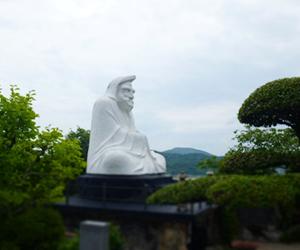 写真:興禅寺の大だるま (2枚目)