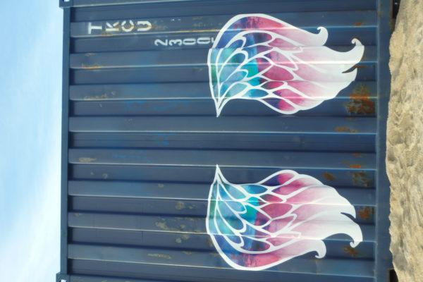 写真:片男波の羽
