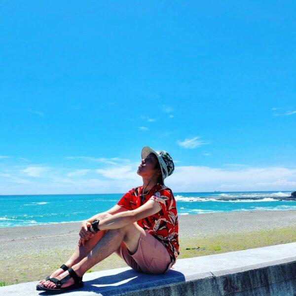 写真:志原海岸
