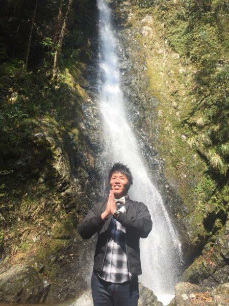 写真:五光の滝