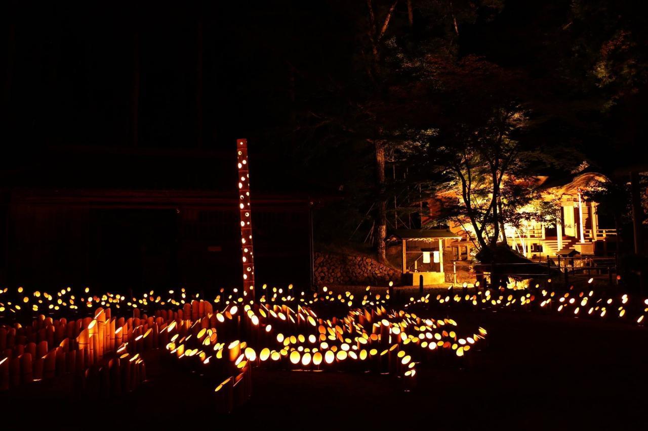 写真:寒川の竹キャンドル(寒川ワンダフルナイト)(2枚目)
