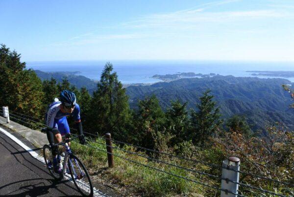 写真:那智山~妙法山のサイクリングコース