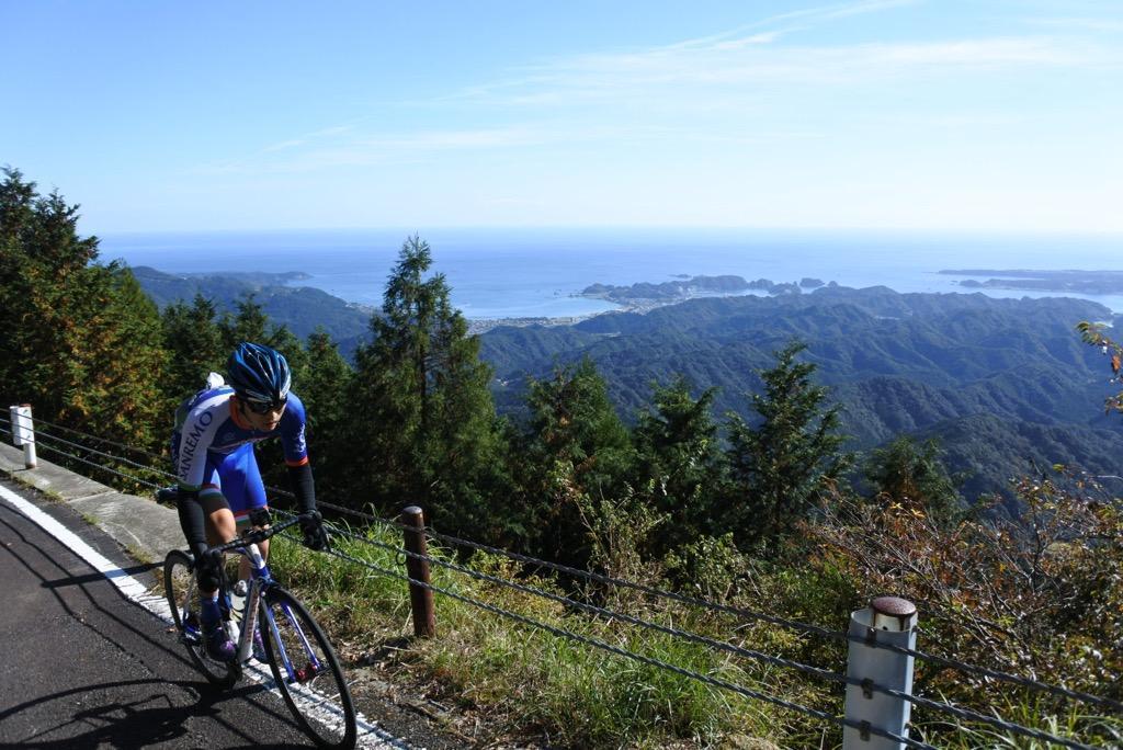 写真:那智山~妙法山のサイクリングコース(1枚目)