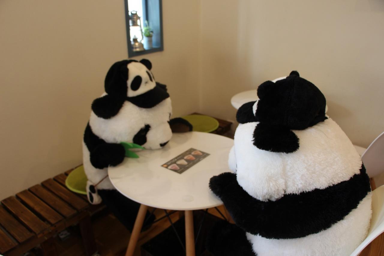 写真:可愛すぎるパンダクレープ(2枚目)