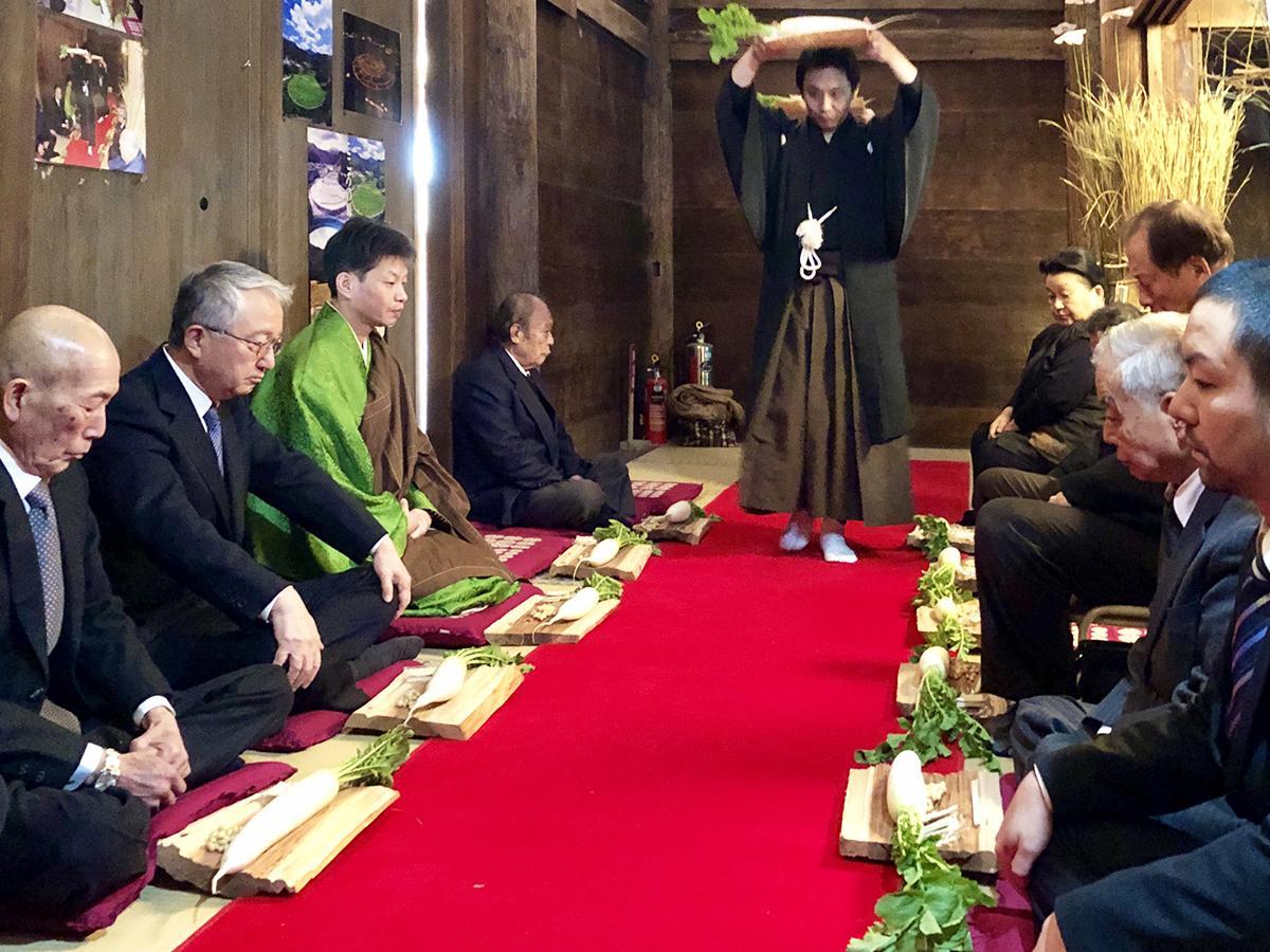 写真:伝統行事「粟生のおも講と堂徒式」が行われる吉祥寺薬師堂(2枚目)