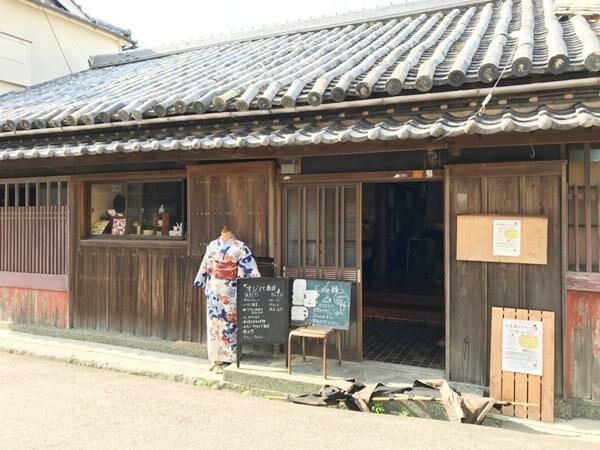 写真:土日限定の加太の古民家カフェ オジバ商店