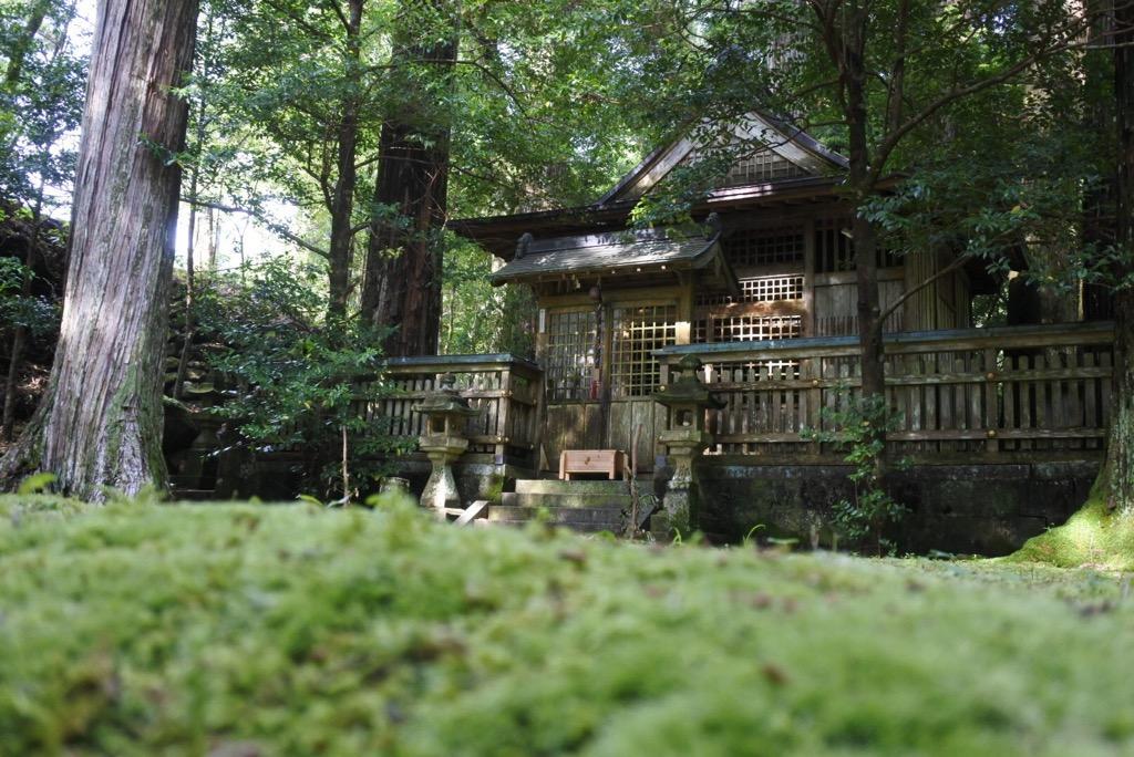 写真:色川神社(1枚目)