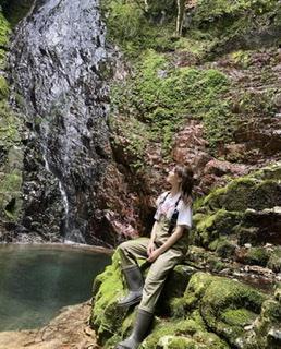 写真:古座川町の滝