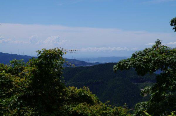 写真:高野山から見えたまさかの風景