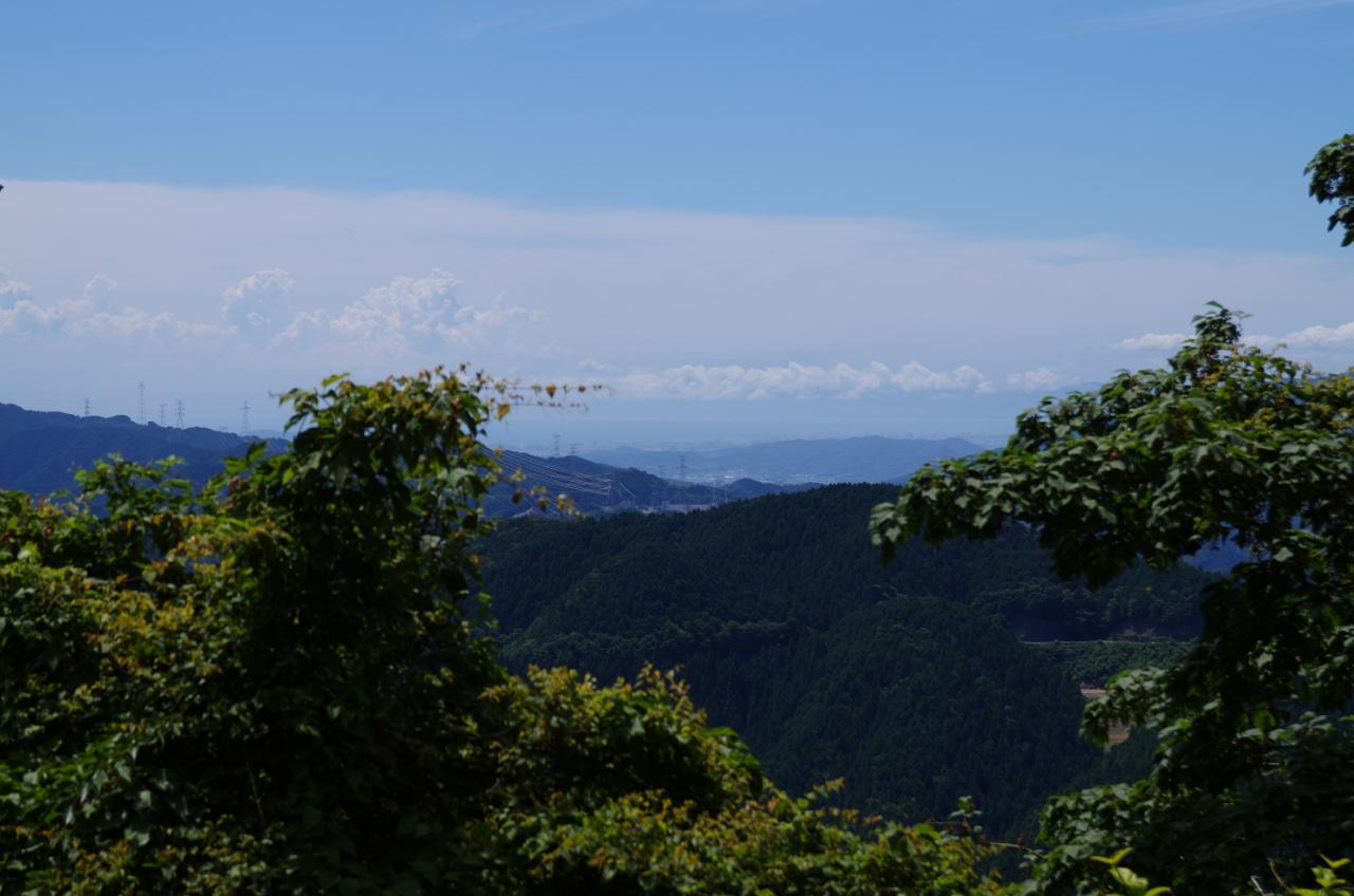 写真:高野山から見えたまさかの風景(1枚目)