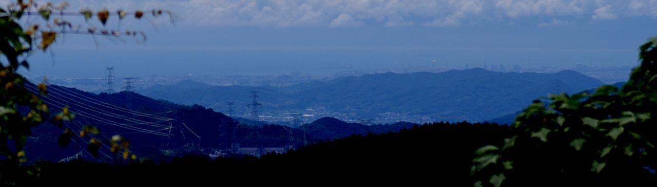 写真:高野山から見えたまさかの風景(2枚目)