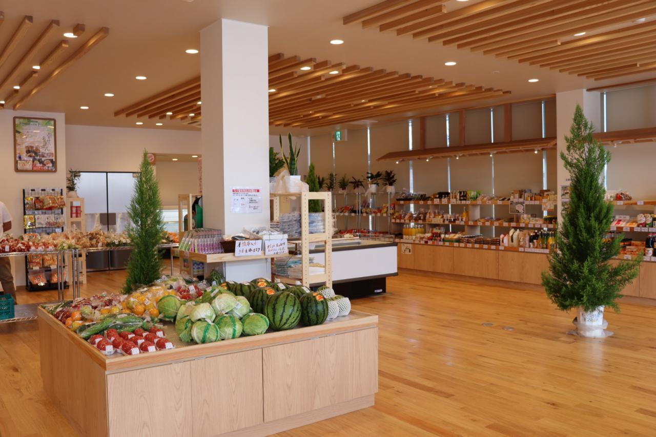 写真:物産販売・飲食施設 『道あかり』(2枚目)