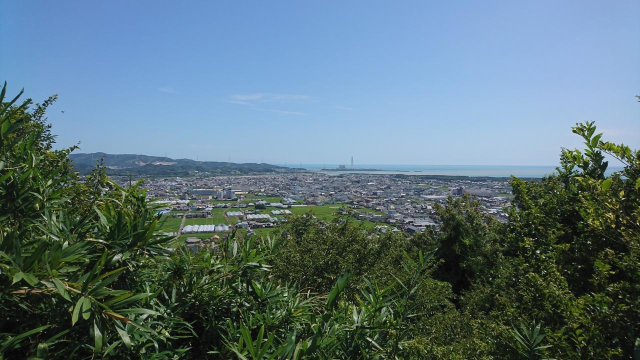 写真:亀山山頂(亀山城跡)(1枚目)