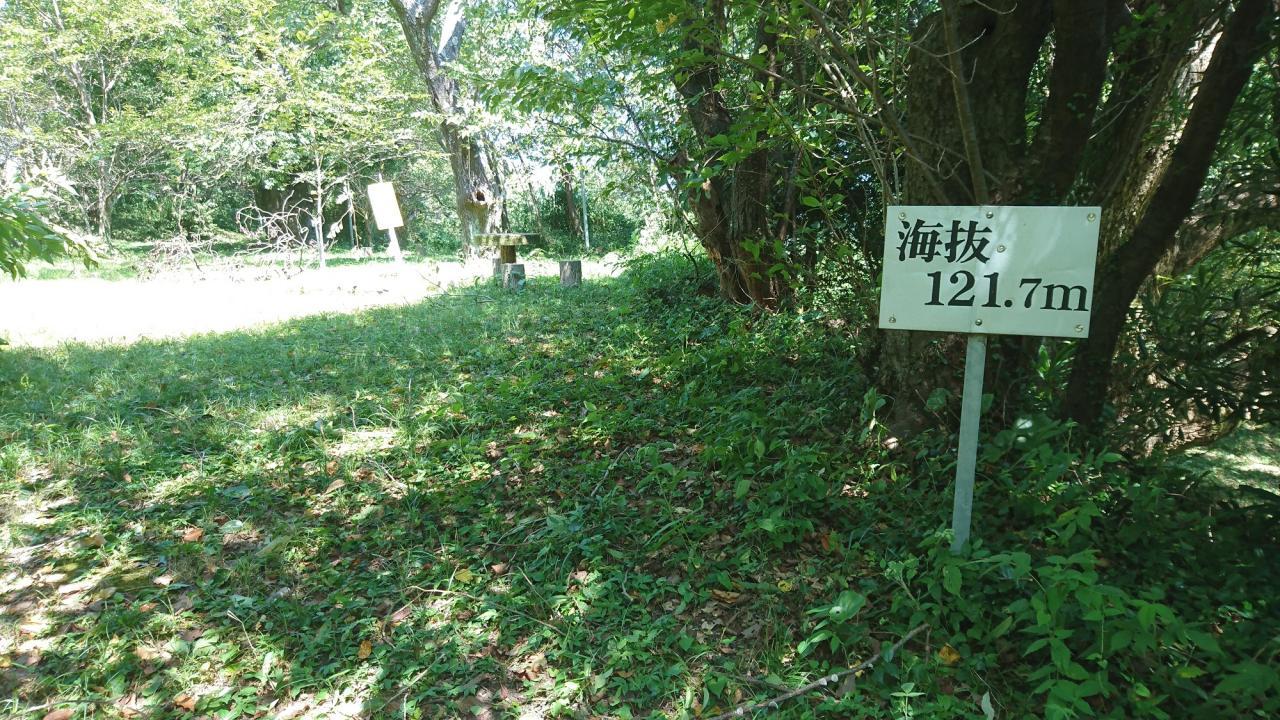 写真:亀山山頂(亀山城跡)(3枚目)