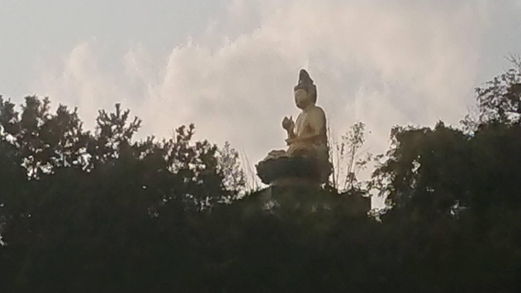 写真:和歌浦の大仏